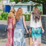 Drie dames